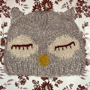 Sleepy owl beanie 🦉